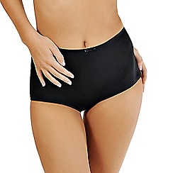 Lisca - Black 'Victoria' high-waisted briefs