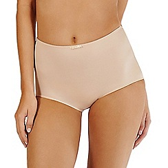 Lisca - Natural 'Victoria' high-waisted briefs