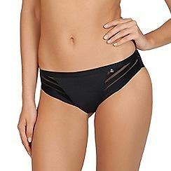 Lisca - Black 'Alegra' seamless bikini knickers