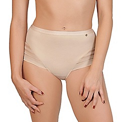 Lisca - Natural 'Alegra' seamless full brief knickers