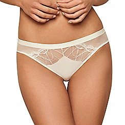 Lisca - Cream 'Beatrice' bikini knickers