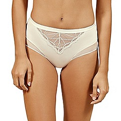 Lisca - Cream 'Beatrice' high waist knickers