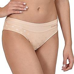 Lisca - Peach champagne 'Charlene' bikini knickers