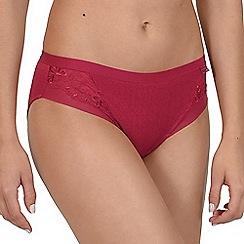 Lisca - Red 'Caroline' bikini knickers