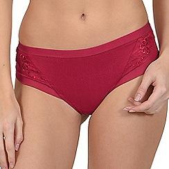 Lisca - Red 'Caroline' brazilian knickers