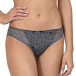 Lisca - Grey 'Carrie' bikini knickers