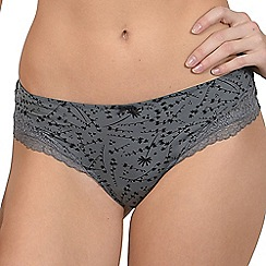 Lisca - Grey 'Carrie' brazilian knickers