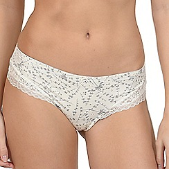 Lisca - Vanilla 'Carrie' brazilian knickers