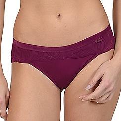 Lisca - Plum 'Celine' bikini knickers