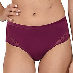 Lisca - Plum 'Celine' high waist knickers