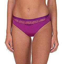 Lisca - Magenta 'Desiree' Bikini Knickers