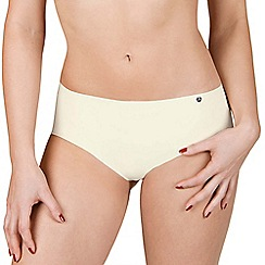 Lisca - 2 pack cream 'Bella' seamless shorts