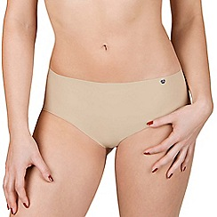 Lisca - 2 pack natural 'Bella' seamless shorts