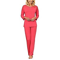 Lisca - Coral 'Brigitte' short sleeve pyjama set
