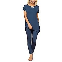 Lisca - Blue 'Brigitte' pyjama set