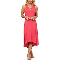 Lisca - Coral 'Brigitte' sleeveless nightdress