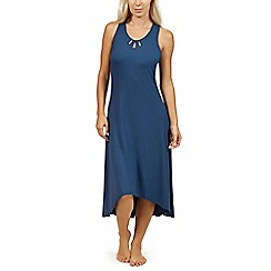 Lisca - Blue 'Brigitte' sleeveless nightdress