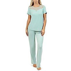 Lisca - Aqua 'Beatrice' short sleeve pyjama set