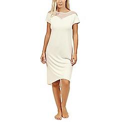 Lisca - Cream 'Beatrice' short sleeve nightdress