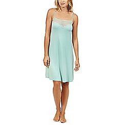 Lisca - Aqua 'Beatrice' sleeveless nightdress