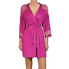 Lisca - Berry 'Fame' lightweight morning gown