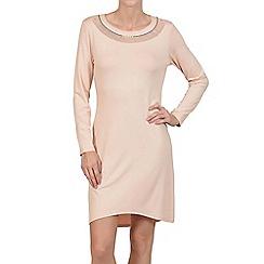 Lisca - Peach champagne 'Charlene' jersey nightdress