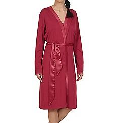 Lisca - Red  Caroline  lightweight morning gown 751a0a27b