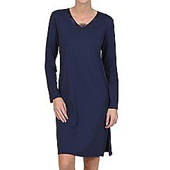 Lisca - Navy 'Celine' jersey nightdress