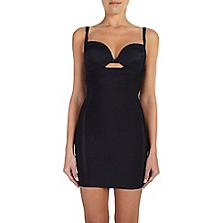Ten Cate - Black 'Silhouette' slip dress