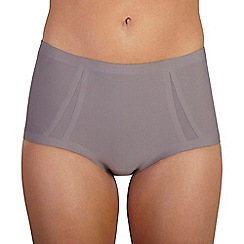 Ten Cate - Taupe 'Silhouette' maxi brief