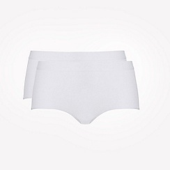 Ten Cate - 2 pack white 'fine' midi knickers