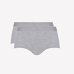 Ten Cate - 2 pack grey 'fine' midi knickers
