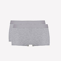 Ten Cate - 2 pack grey 'fine' shorts