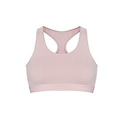Ten Cate - Pink 'fine' non-wired non-padded crop top