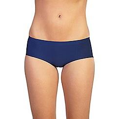 Ten Cate - Blue lace back 'secrets' bikini knickers