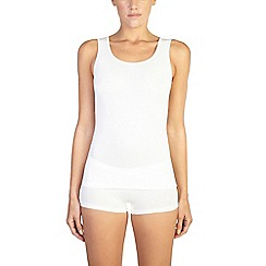 Ten Cate - 2 pack cream cotton seamless vest