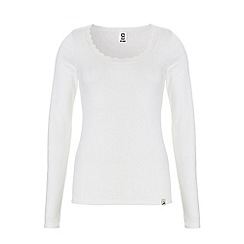 Ten Cate - White long sleeve thermal top