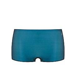 Ten Cate - Dark green 'secrets' shorts