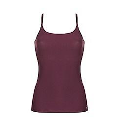 Ten Cate - Burgundy 'secrets' strappy vest