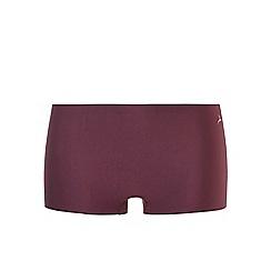 Ten Cate - Burgundy 'secrets' shorts