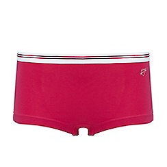 Ten Cate - Teen girls' red hipster briefs