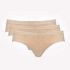 Ten Cate - Pack of three tan bikini briefs