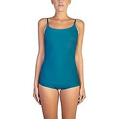 Ten Cate - Green 'Secrets' spaghetti vest