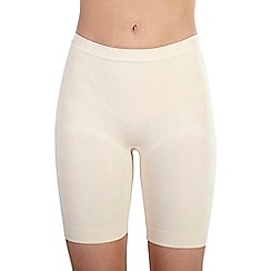 Ten Cate - Tan 'Shapewear Seamless' long shorts