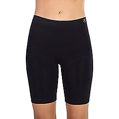 Ten Cate - Black 'Shapewear Seamless' long shorts