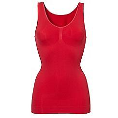 Ten Cate - Red 'Shapewear Seamless' vest