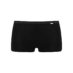 Ten Cate - Black 'Luxury Cotton' satin band shorts