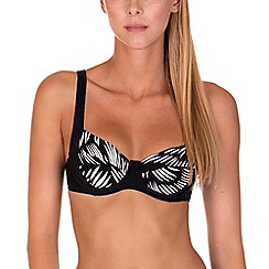 Lisca - Black 'Lagos' Underwired Bikini Top
