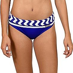 Lisca - Blue 'Egipt' classic bikini bottoms