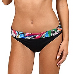 Lisca - Multicoloured 'Favone' high waisted bikini bottoms